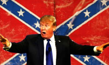 Trump Focuses On Whites Killed By Police, DEFENDS Confederate Flag