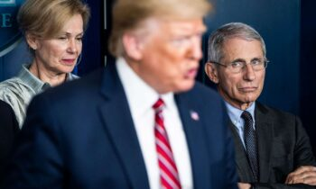 Trump Targets Fauci – Supporters Undercut Nations Top Infectious Disease Expert